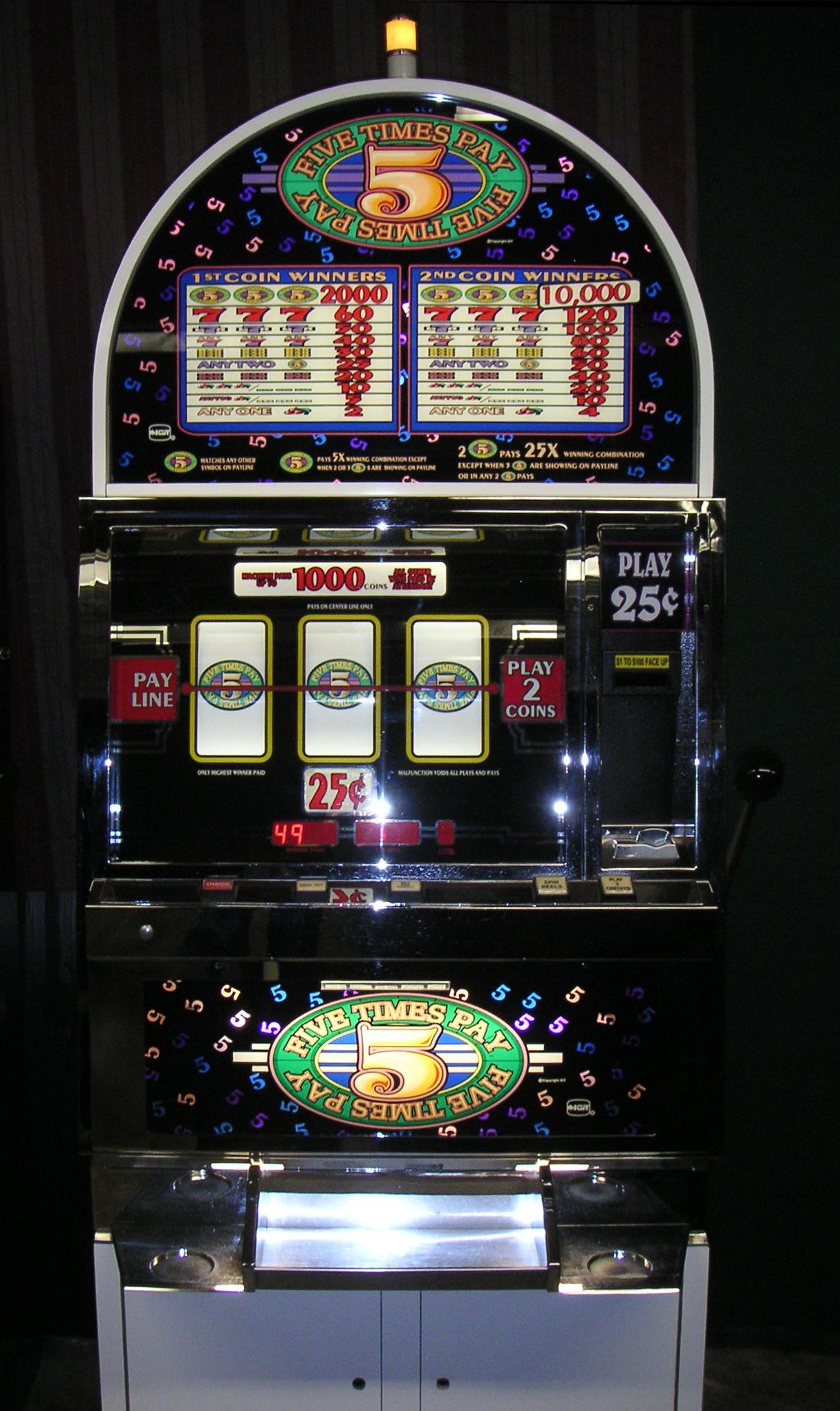 Old School Slot Machine